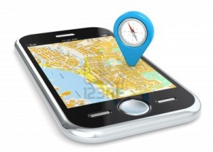 13663780-black-smartphone-gps-map-and-an-abstract-pointer-icon-with-compass
